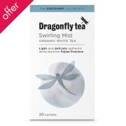 Dragonfly Teas Swirling Mist White Tea - 20 Bags