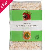 Clearspring Slim Rice Cakes - Plain 100g