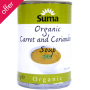 Suma Organic Carrot & Coriander Soup 400g