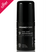 Organic Homme Stay Cool Deodorant 75ml