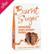 Burnt Sugar Stem Ginger Crumbly Fudge 150g