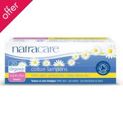 Natracare Organic Cotton Tampons - Super Plus - 20