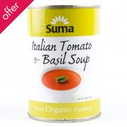 Suma Italian Tomato & Basil Soup 400g