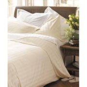Natural Collection  Cotton Double Duvet Cover - White