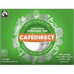 Cafedirect Everyday Tea - 80 Teabags