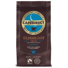Cafedirect Kilimanjaro Roast and Ground Coffee - 227g