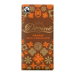 Divine Orange Milk Chocolate 100g
