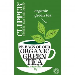 Clipper Organic Green Tea 25 Bags