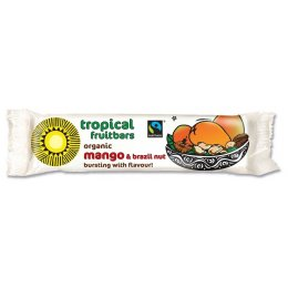 Tropical Wholefoods Mango & Brazil Flapjack Energy Bar