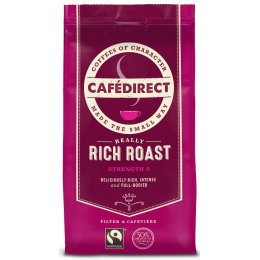 Cafedirect Rich Roast, Fresh Ground Coffee - 227g