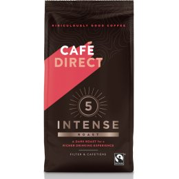 Cafedirect Intense Roast Fresh Ground Coffee - 227g
