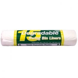 15 d2w Degradable Swing Bin Liners 50 litres