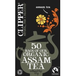 Clipper Organic Assam Tea - 50 Bags