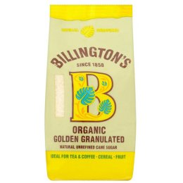 Billingtons Organic Granulated Sugar 500g