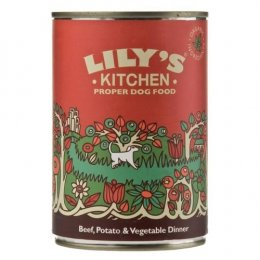 Lilys Kitchen Cottage Pie Beef & Vegetable Dinner For Dogs - 400g