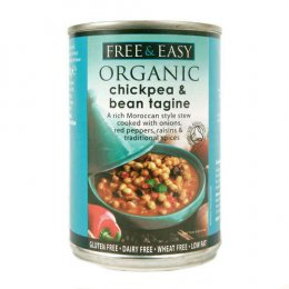 Free & Easy Chick Pea & Bean Tagine 400g