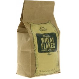 Suma Prepacks - Organic Toasted Malted Wheat Flakes 400g
