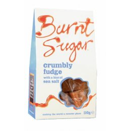 Burnt Sugar Crumbly Fudge with Sea Salt 150g