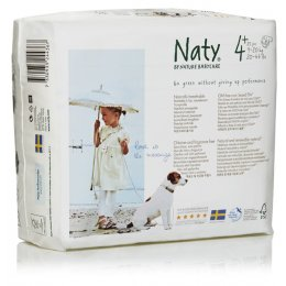 Naty Eco Disposable Nappies - Junior - Size 4  - Pack of 25