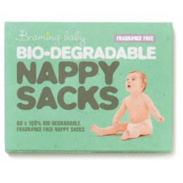 Fragrance Free Beaming Baby Biodegradable Nappy Sacks