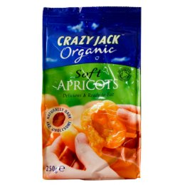 Crazy Jack's Organic Dried Apricot - 250g test