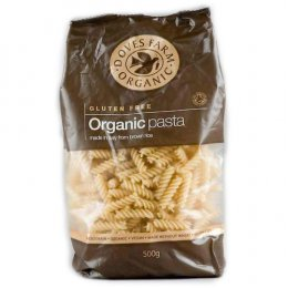 Doves Farm Organic Brown Rice Fusilli Pasta - 500g