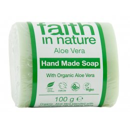 Faith in Nature Aloe Vera & Ylang Ylang Soap - 100g