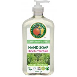Earth Friendly Organic Handsoap - Lemongrass - 500ml