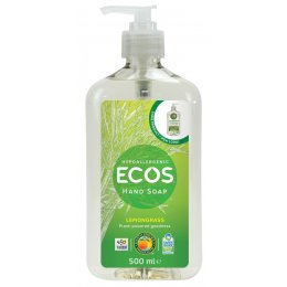 ECOS Organic Hand Soap - Lemongrass - 500ml