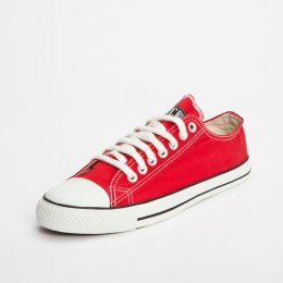 Ethletic Fairtrade Trainers - Red test
