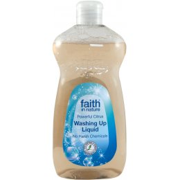 Faith in Nature Antibacterial Washing Up Liquid 500ml