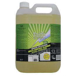 Faith In Nature Anti-Bacterial Multi-Surface Cleaner - 5L