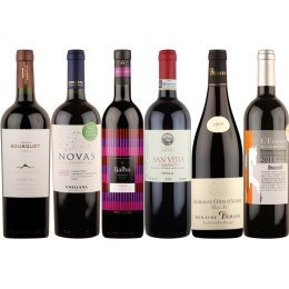 Box of 6 Premium Organic Red Wines test