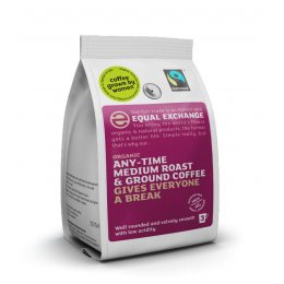 Equal Exchange Organic Medium Roast & Ground Coffee - 227g