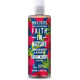 Faith In Nature Pomegranate & Rooibos Body Wash - 400ml