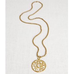 La Jewellery Recycled Brass Turkish Necklace test