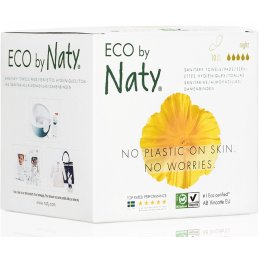 Naty Nature Womencare Sanitary Towels - Night - Pack of 10