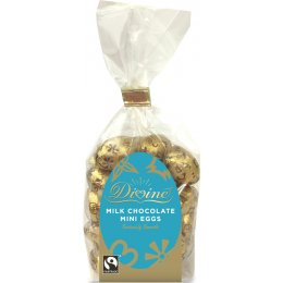 Divine Milk Chocolate Mini Eggs - 160g