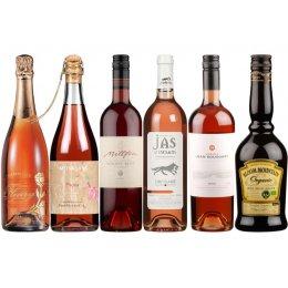 Box of 6 Valentine�s Champagne, Premium Wine & Liqueur Pack test