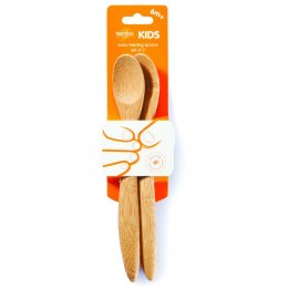Bamboo Baby Feeding Spoons 6M  - Pack of 2
