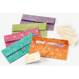 Luxury Handmade Gift Wallets - Set of 5