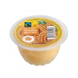 Traidcraft Fair Trade Pineapple Fruit Pots 120g