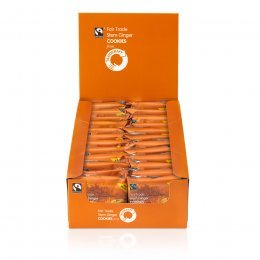 Traidcraft Fairtrade Stem Ginger Cookies 45g test