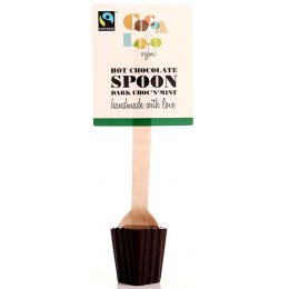 Cocoa Loco Hot Chocolate Spoon - Dark with Mint - 30g