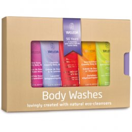 Weleda Mini Body Wash Gift Set - 5 x 20ml