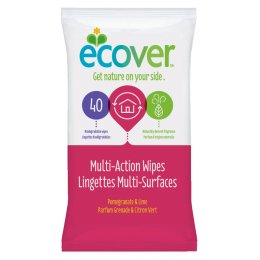 Ecover Multi-Purpose Wipes - Pack of 40