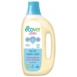 Ecover Zero Non-Bio Laundry Liquid - 1.5L - 21 Washes