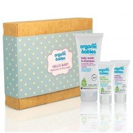 Green People Hello Baby Organic Gift Set - Blue test