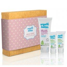Green People Hello Baby Organic Gift Set - Pink test