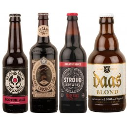 Case of 20 Organic Strong and Dark Beers